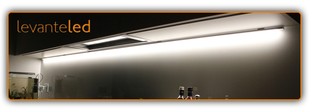 Barra Led Touch Alluminio Sotto Pensile Cucina ON/OFF chip SAMSUNG ...